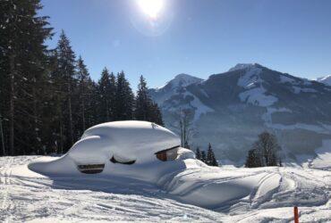Prachtig weer in SkiWelt