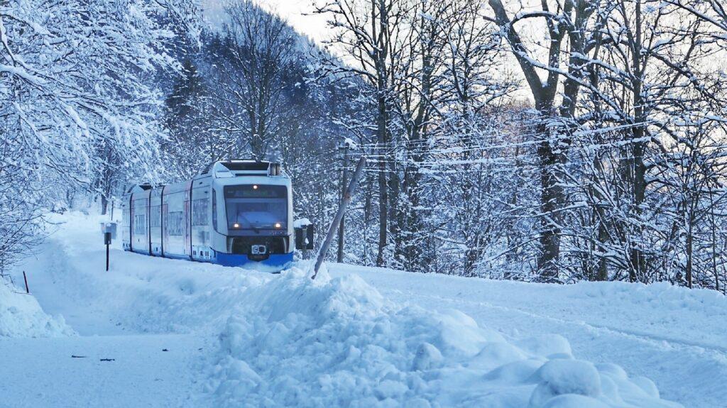 Wintersport Frankrijk 2021 trein