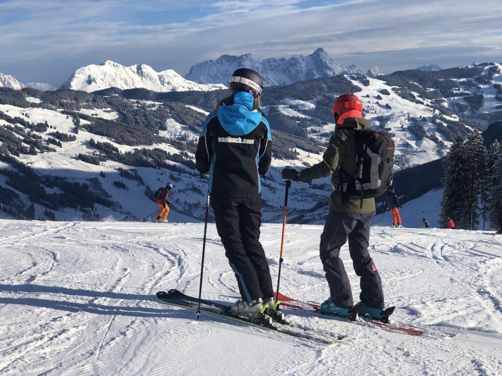 Skiën in het Skicircus
