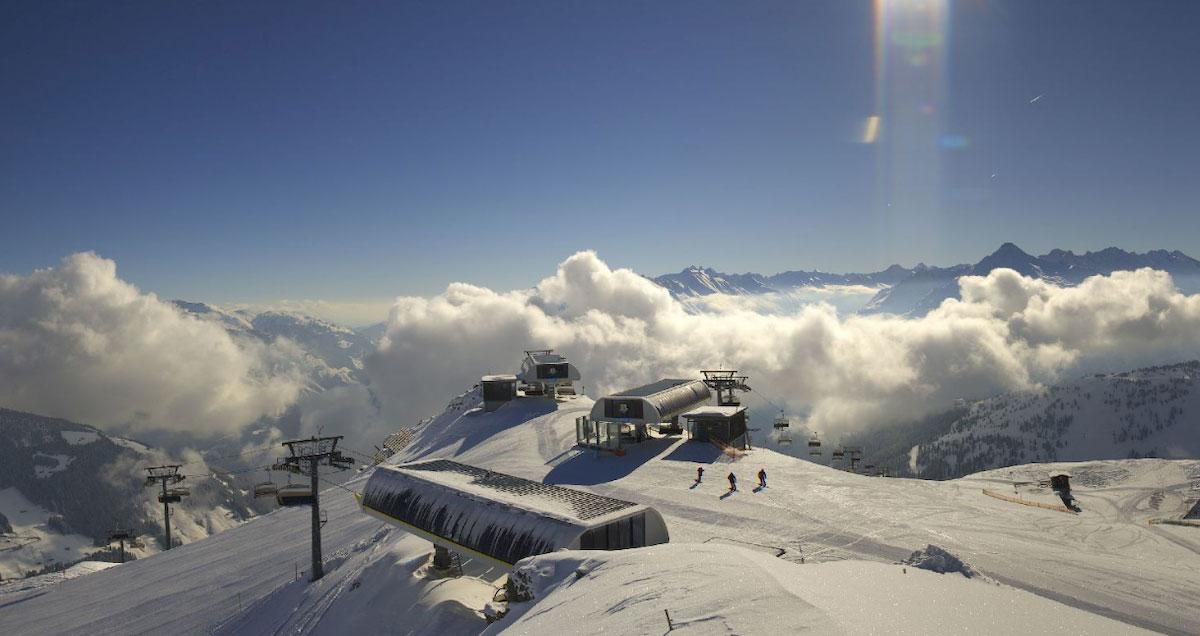 Webcambeeld Mayrhofen in de winter