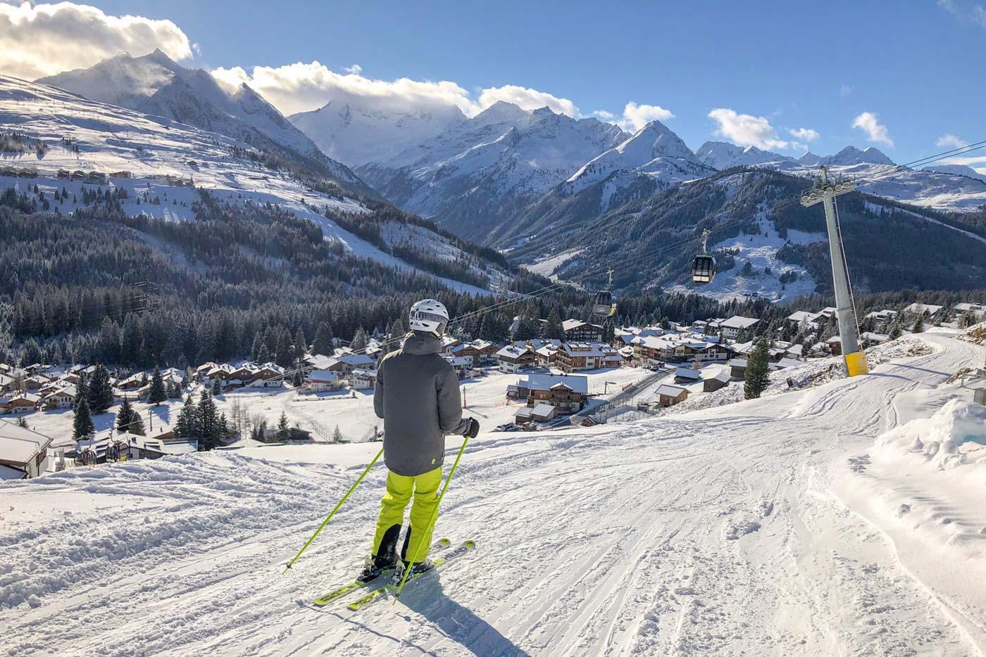 Skiën op de pistes van de Zillertal Arena