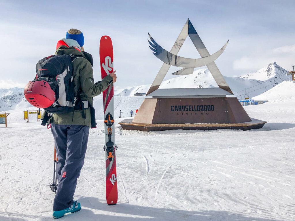 Freeriden met freeride ski's