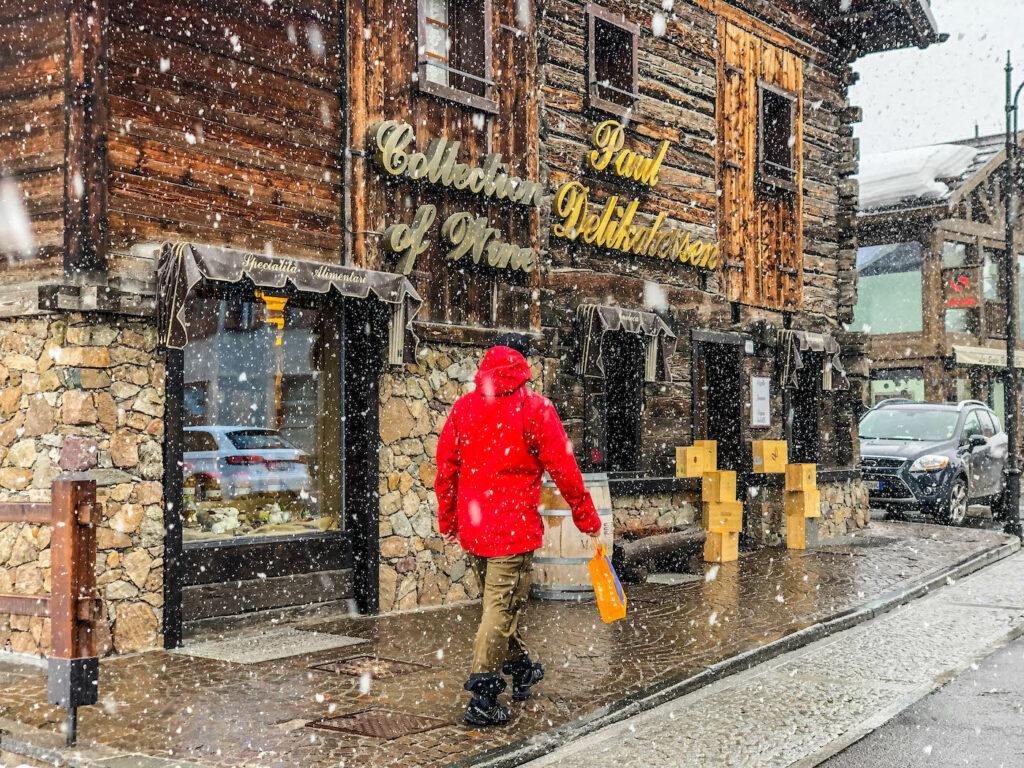 belastingvrij shoppen wintersport in Livigno
