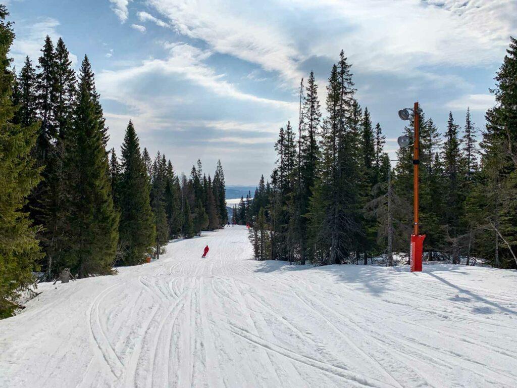 Wintersport in Zweden in skigebied Åre