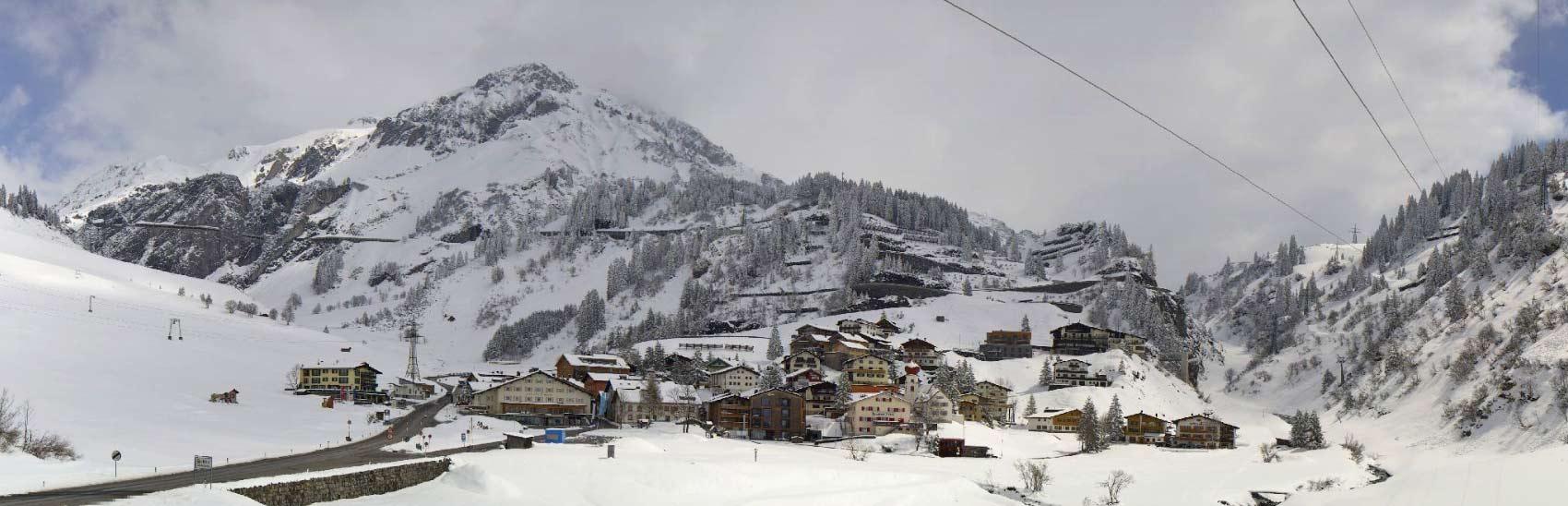 Winter of lente in Stuben am Arlberg