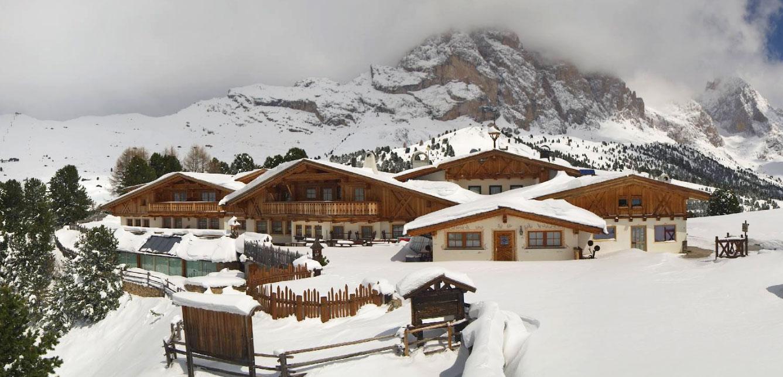 Sneeuw in Val Gardena