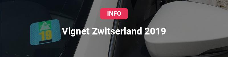 Button met vignet Zwitserland 2019