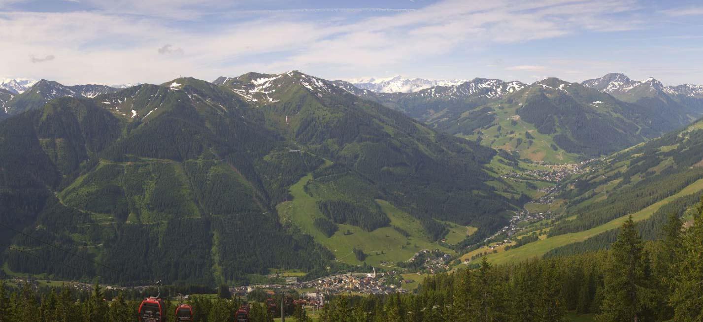 Het dal van Saalbach-Hinterglemm