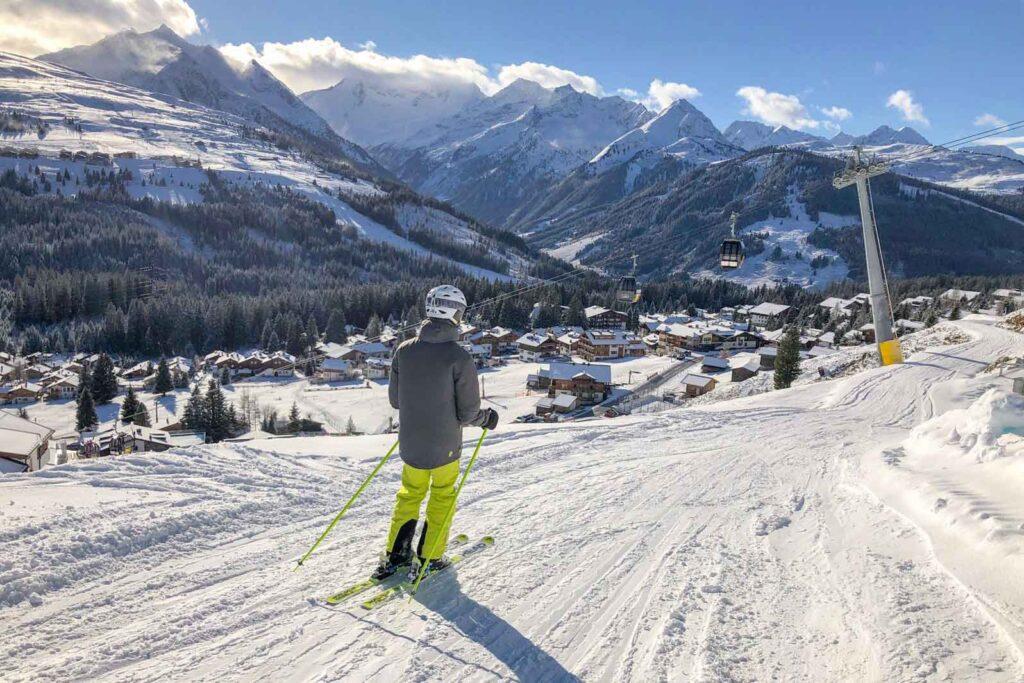 Skiën in sneeuwzekere skigebieden in Oostenrijk
