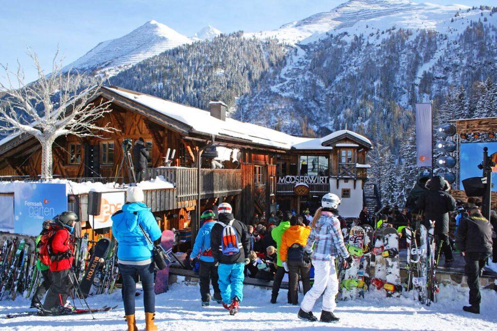 Mooserwirt beste après-ski gebieden van Oostenrijk