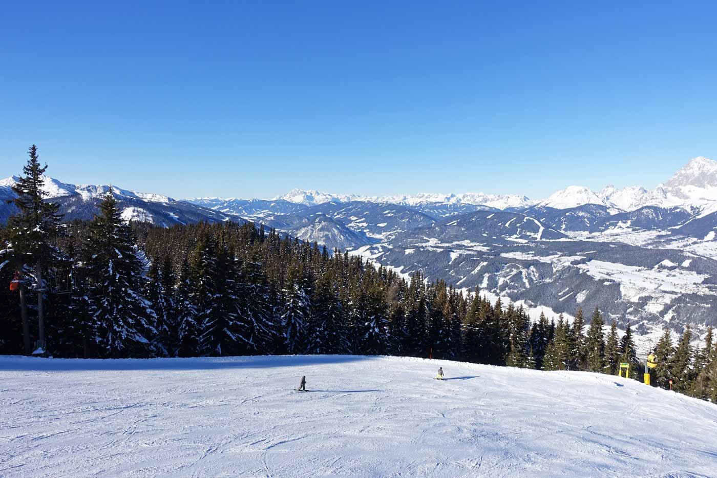 Skigebied Schladming - Dachstein