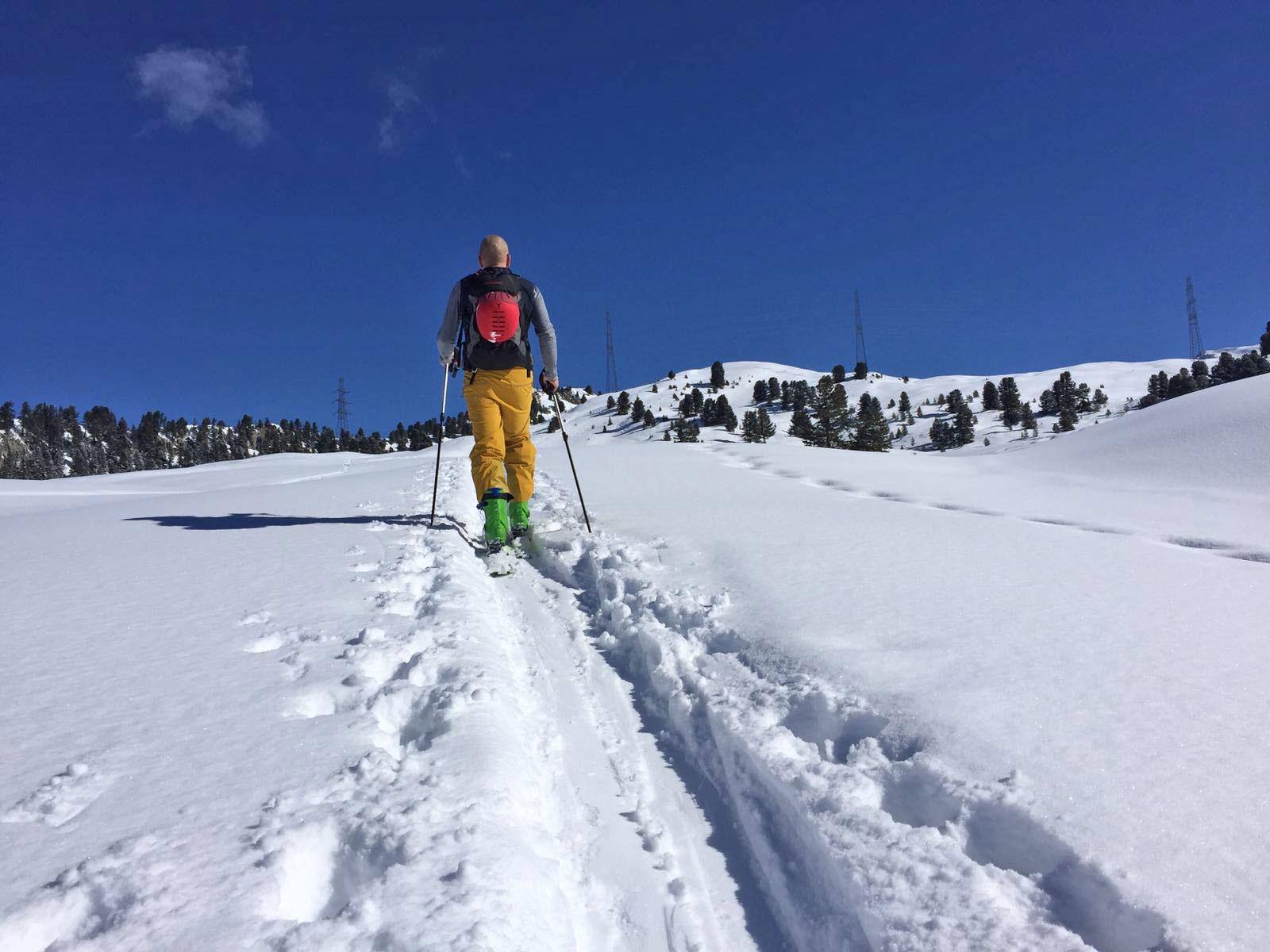 Toerskiën op wintersport