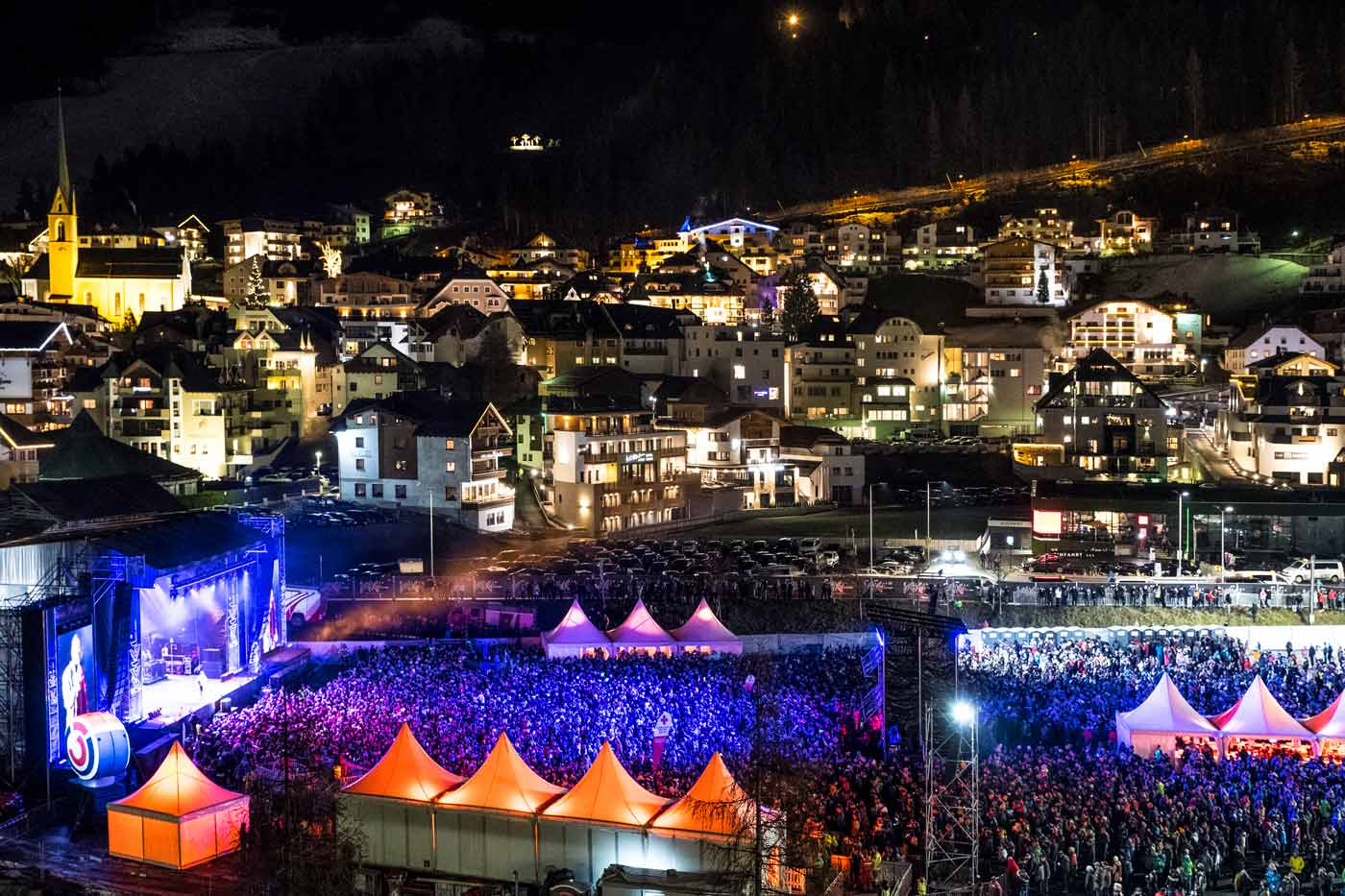 Top of the Mountain Opening Concert in Ischgl