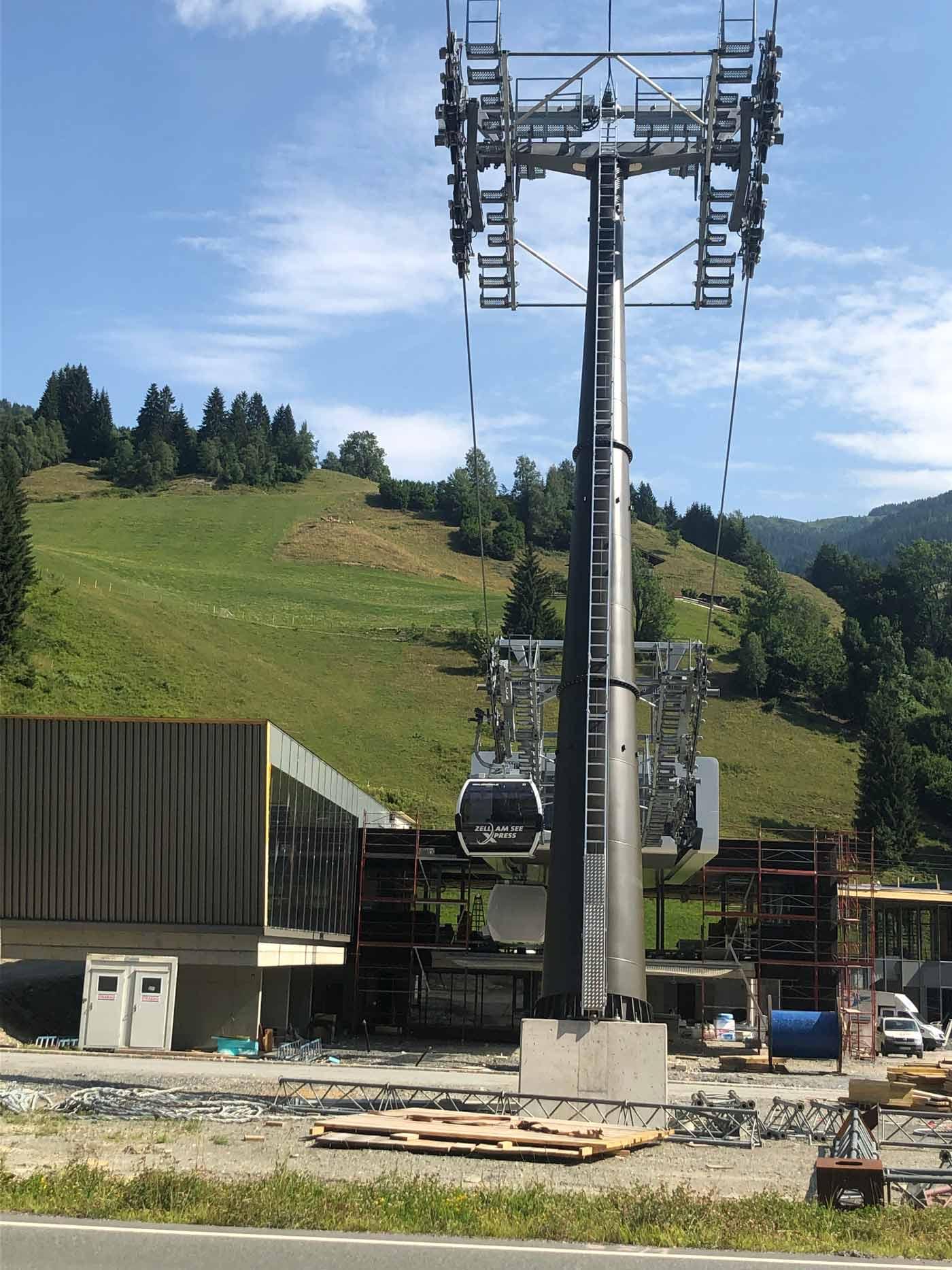 Nieuwe zellamseeXpress in Viehhofen