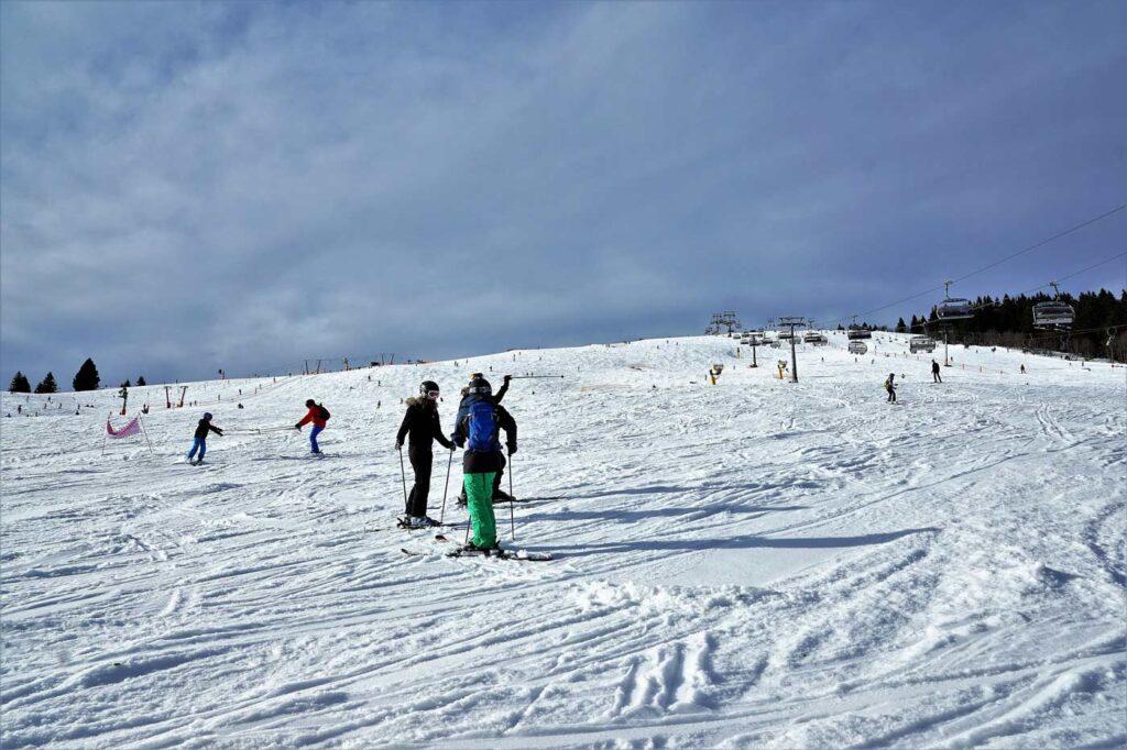 Skigebied Feldberg Duitsland