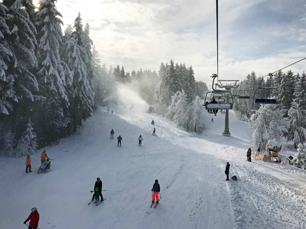 wintersport vakantiepark in Winterberg
