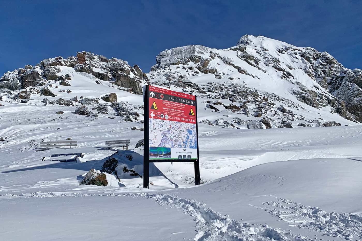 Skigebied Silvretta Arena Ischgl Samnaun