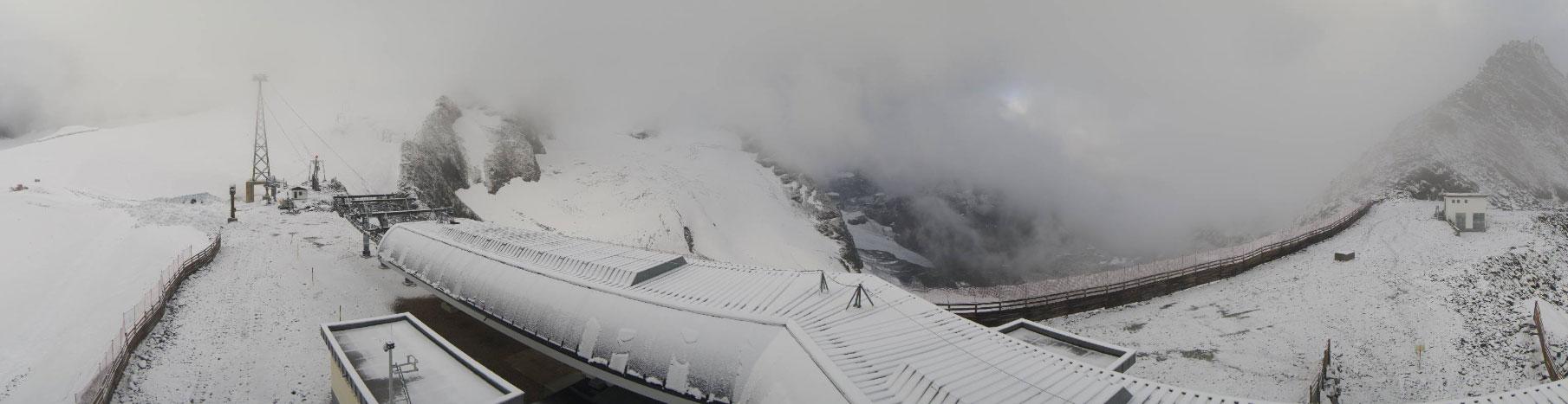 Sneeuw in Sölden