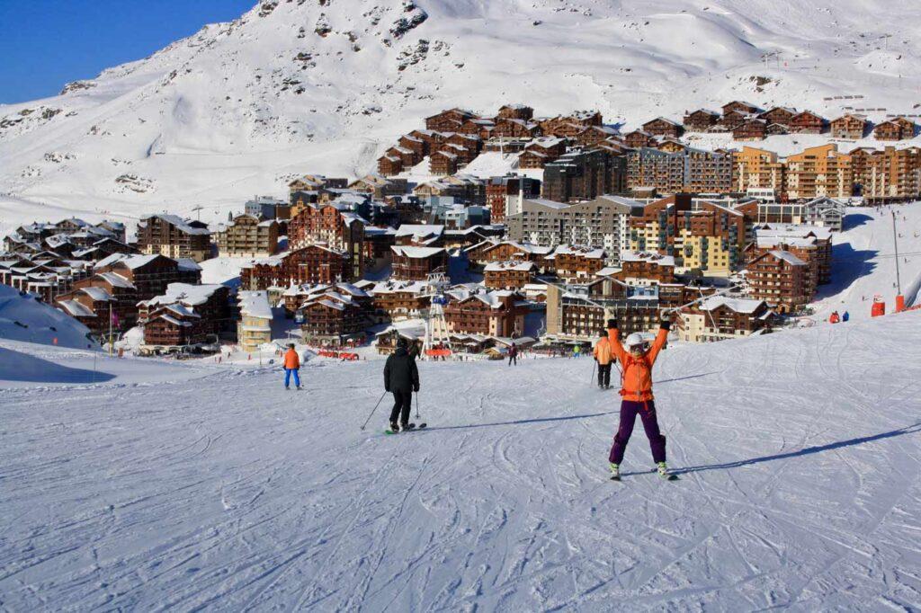 Skiën in maart in Val Thorens