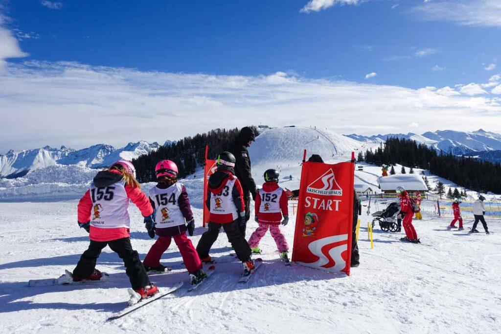 Skiklasje Serfaus Fiss Ladis wintersport voorjaarsvakantie