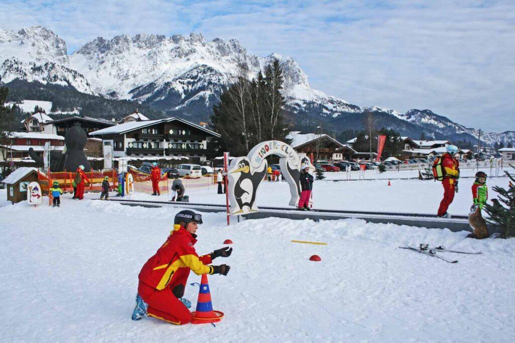 Kinderland in kindvriendelijk skigebied in Oostenrijk SkiWelt Wilder Kaiser - Brixental