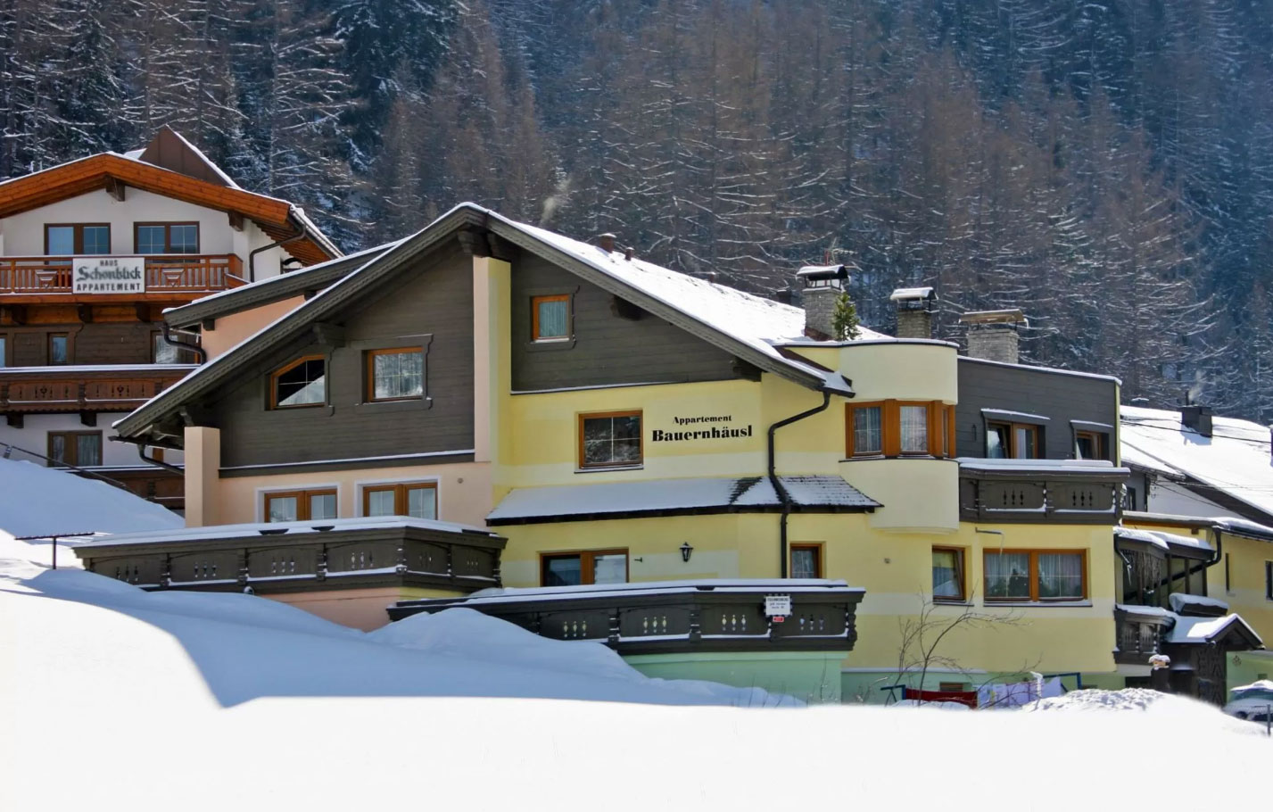 Appartement in Sölden
