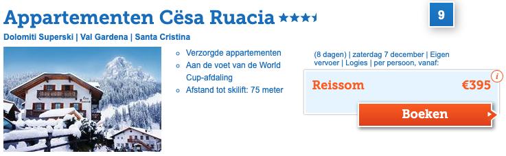 Cesa Ruacia Val Gardena