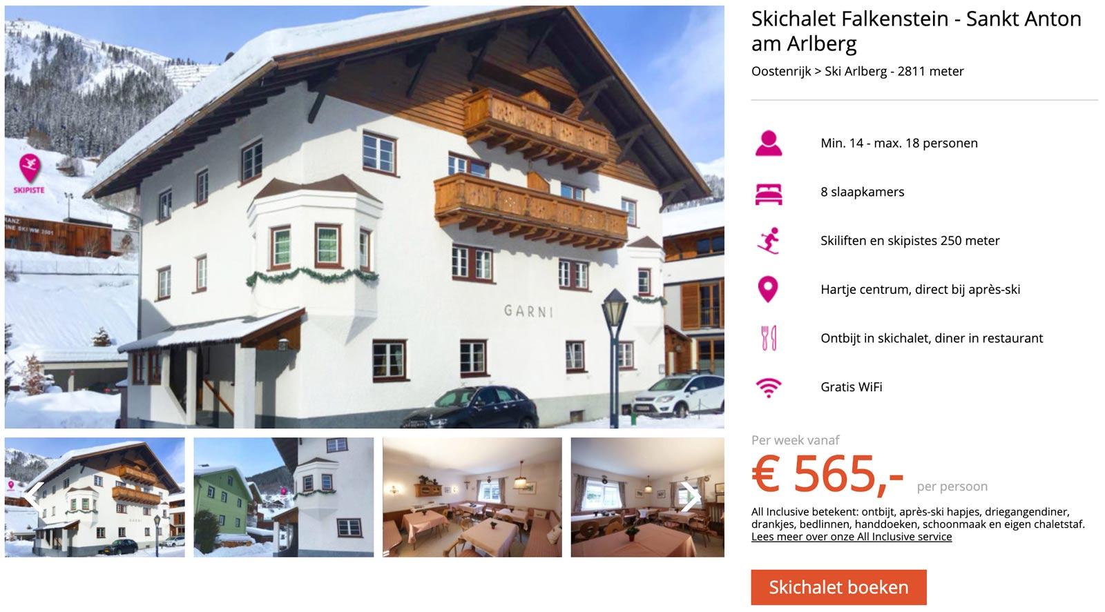 Chalet in St. Anton am Arlberg