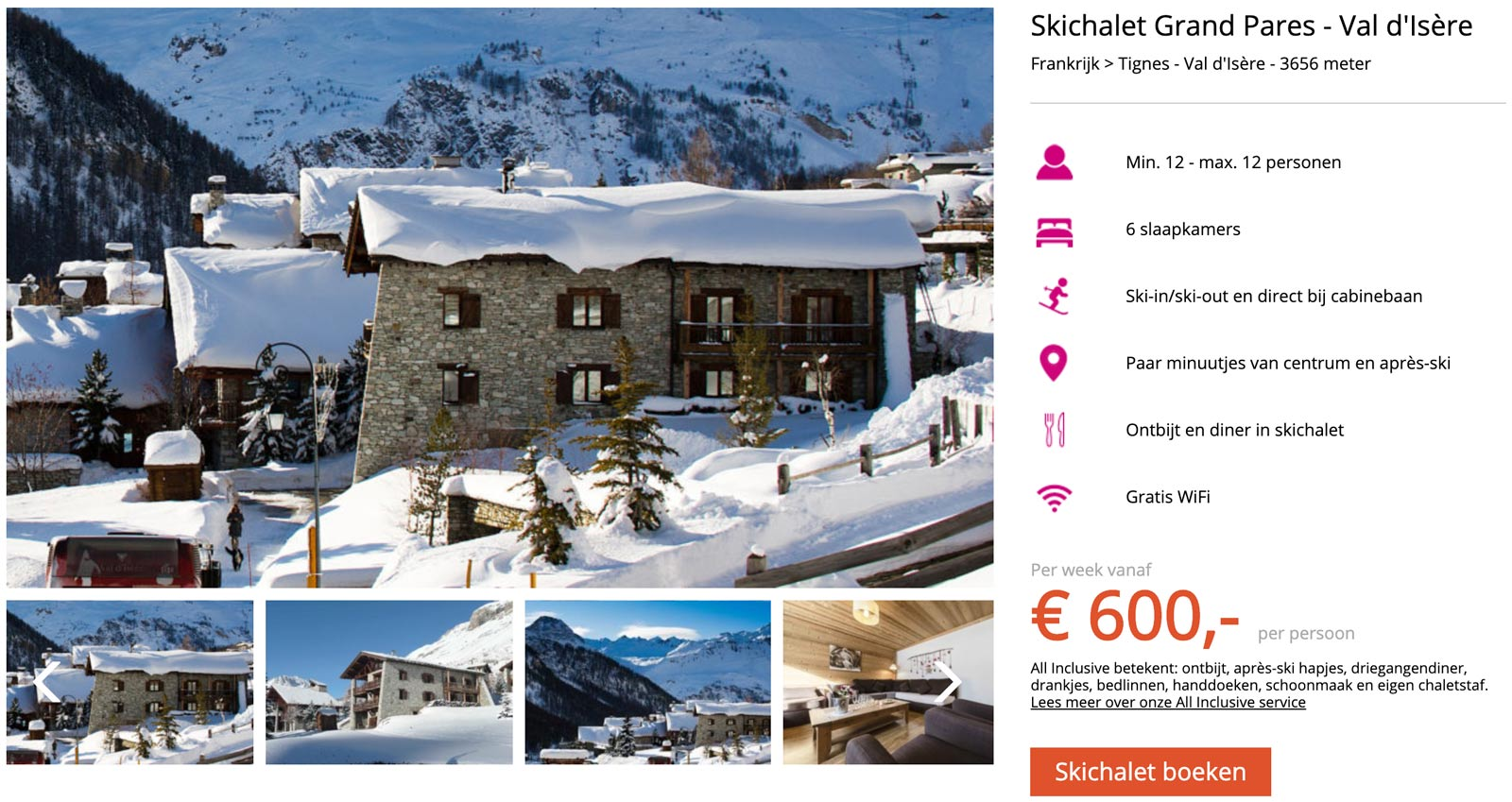 Chalet in Val d'Isere
