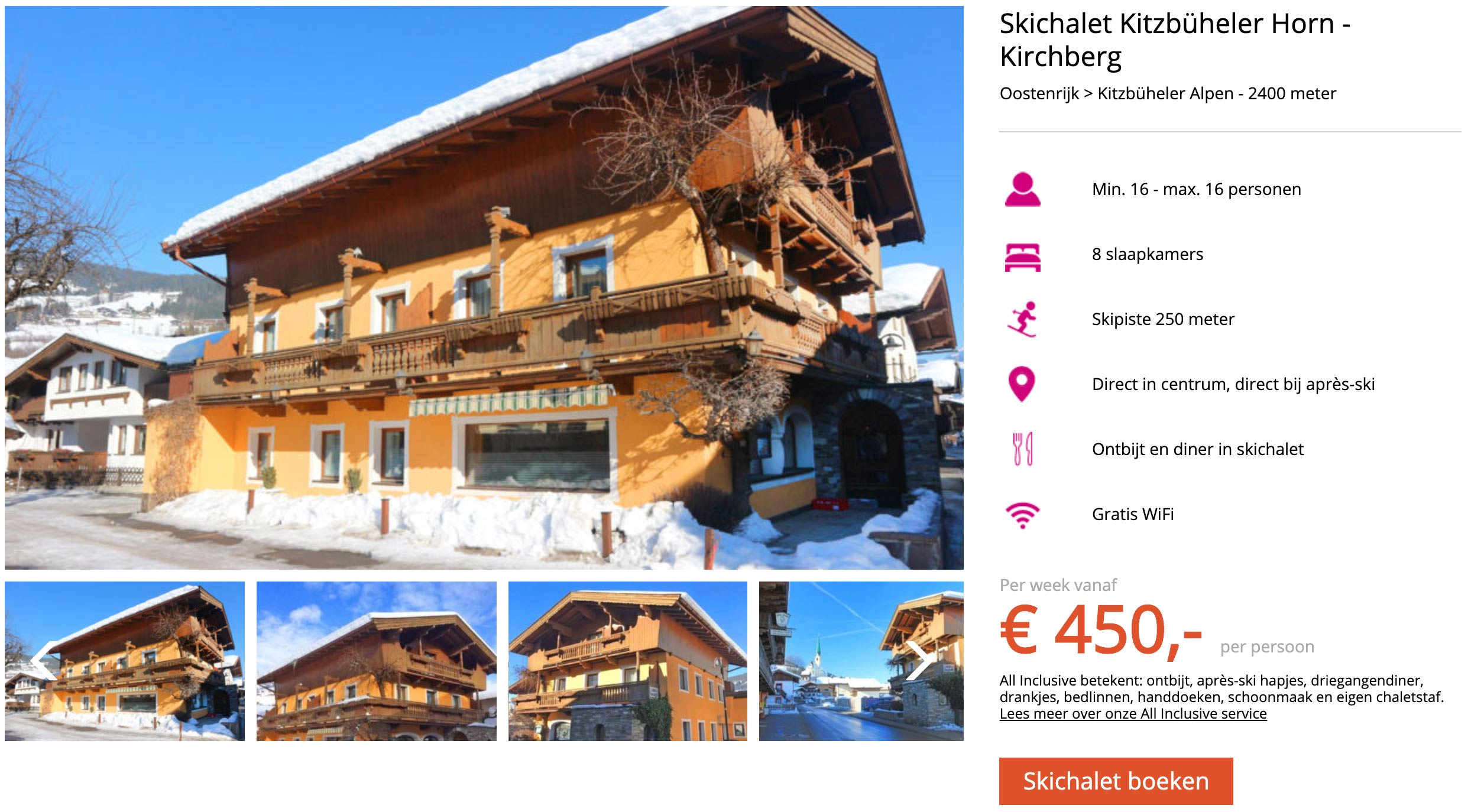 Chalet Kitzbüheler Horn in Kitzbühel