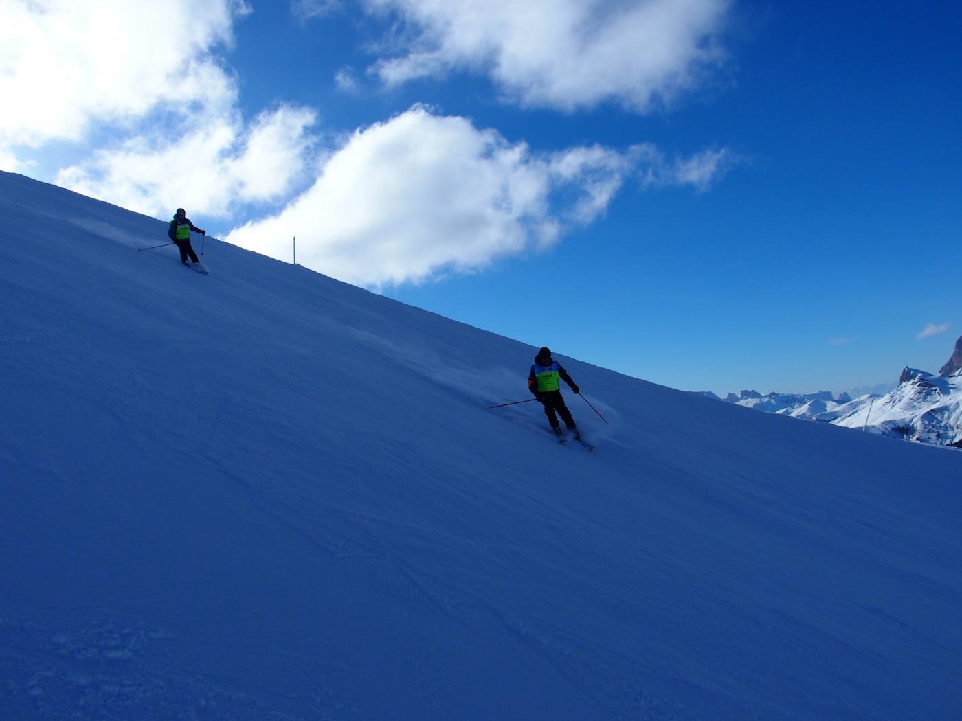 slechtziende skier