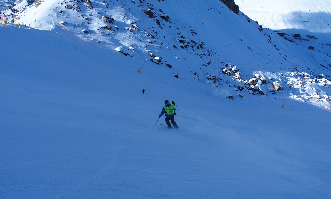 visueel beperkte skier