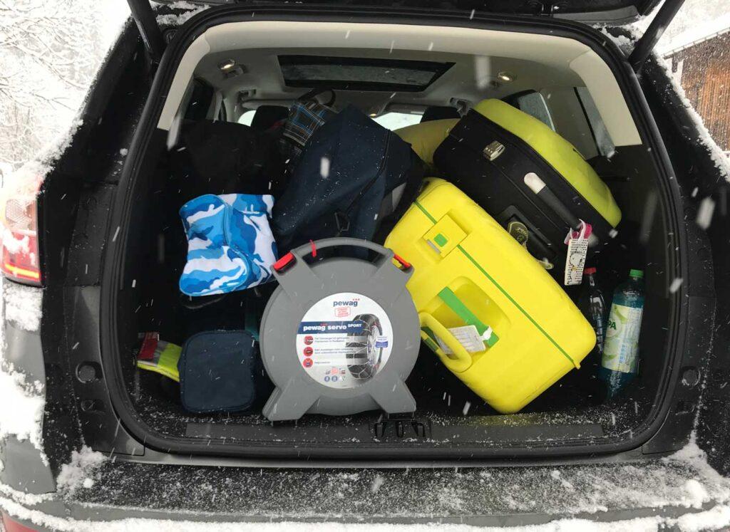 auto vol bagage