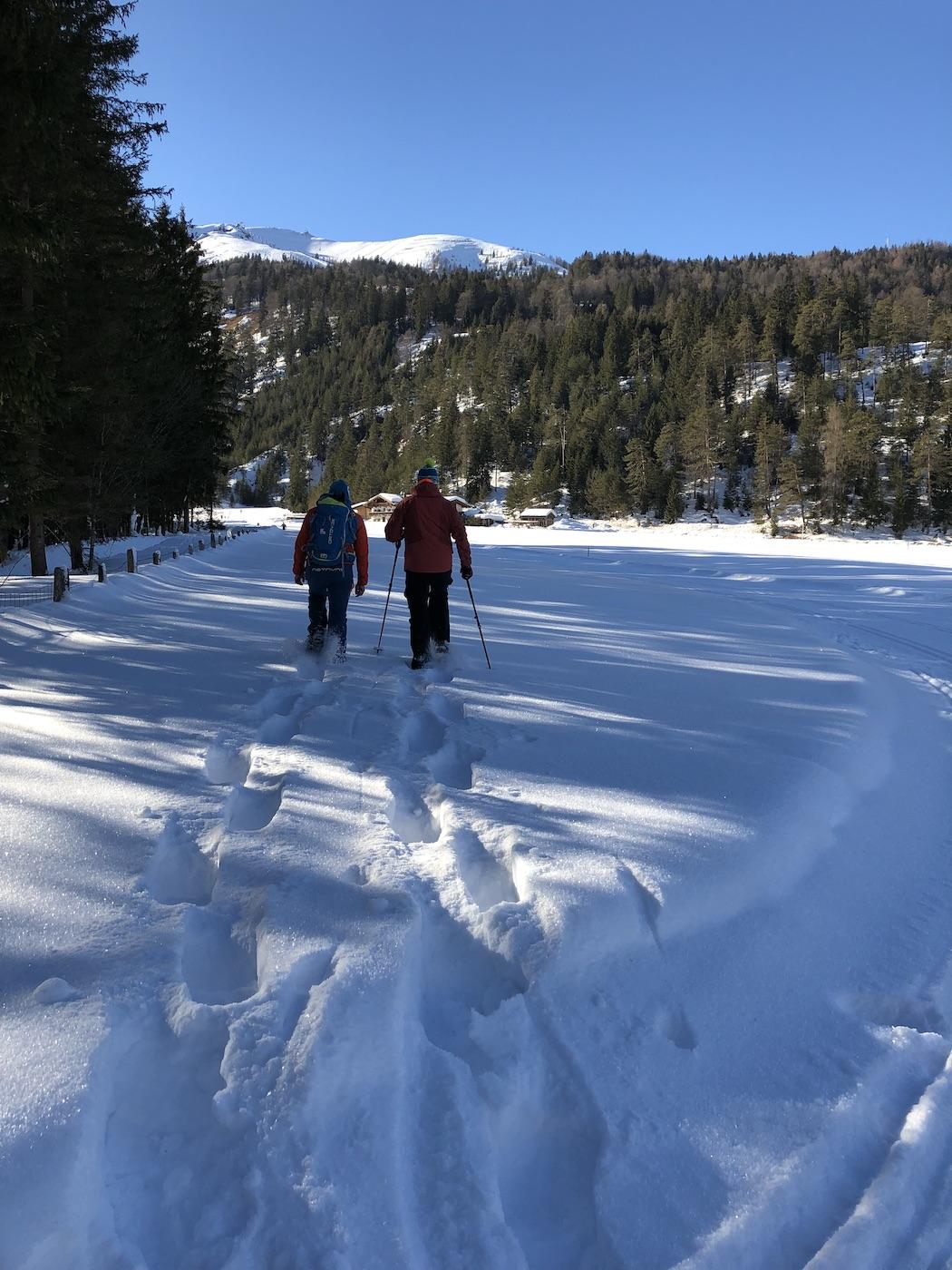Sneeuwschoenwandelen Karwendel Achensee