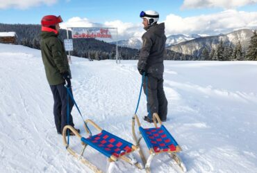 Rodelen wintersport Ski Juwel