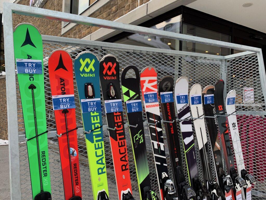 ski's kopen met korting