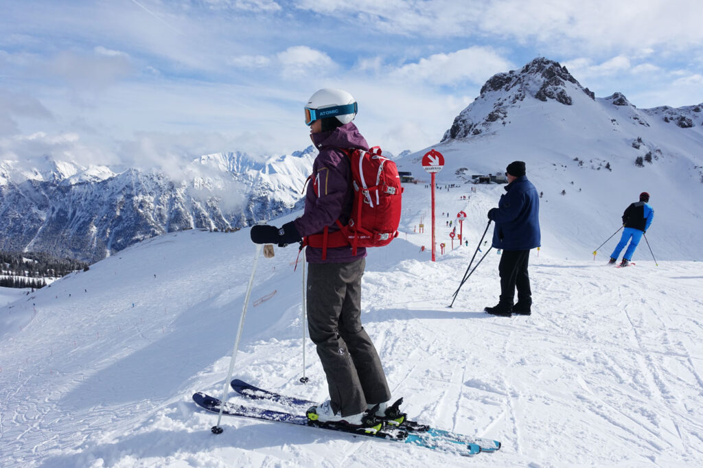 Skiën en overnachten in Kleinwalsertal