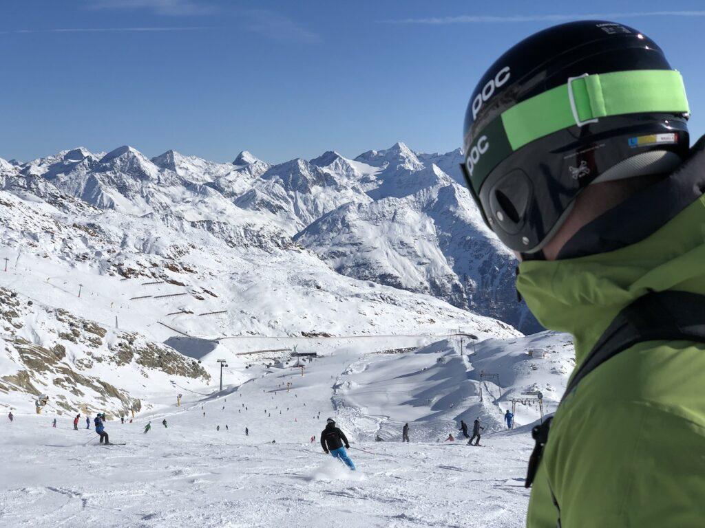 Wintersport in november 2021 in Sölden