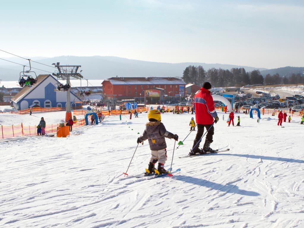 Skiën Tsjechië