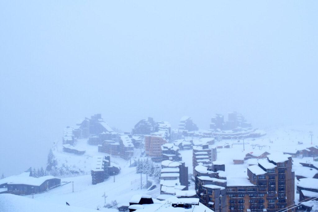 Sneeuw in Avoriaz