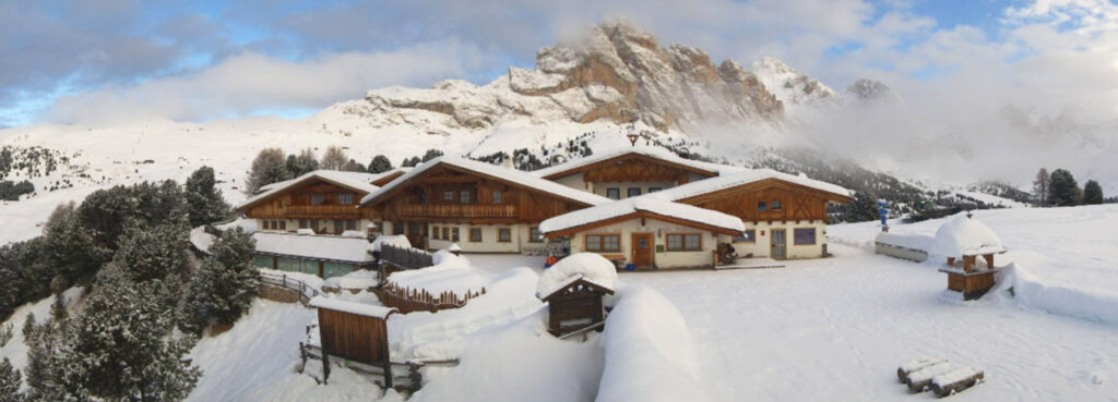Val Gardena sneeuw