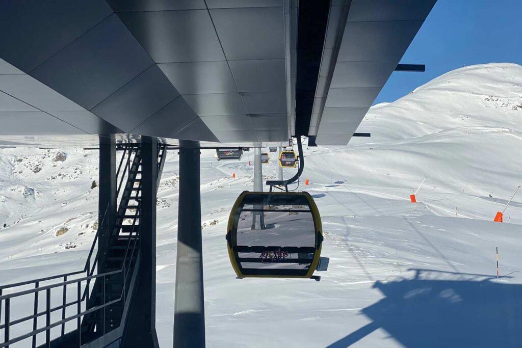 Gondel nieuwe Stuanmandlbahn Zillertal Arena