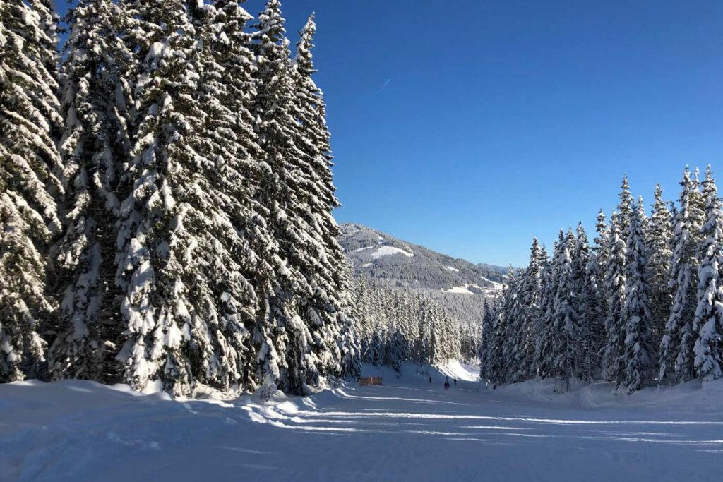 Beste pistes skigebied Hochkönig