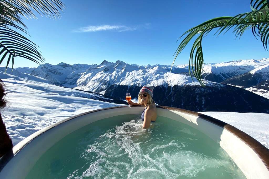 Hottub in skigebied
