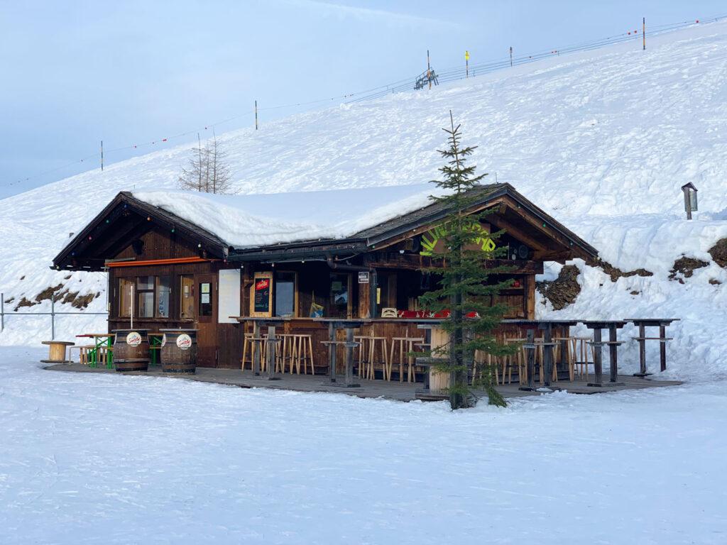 Berghut op de Rinerhorn in Davos Klosters