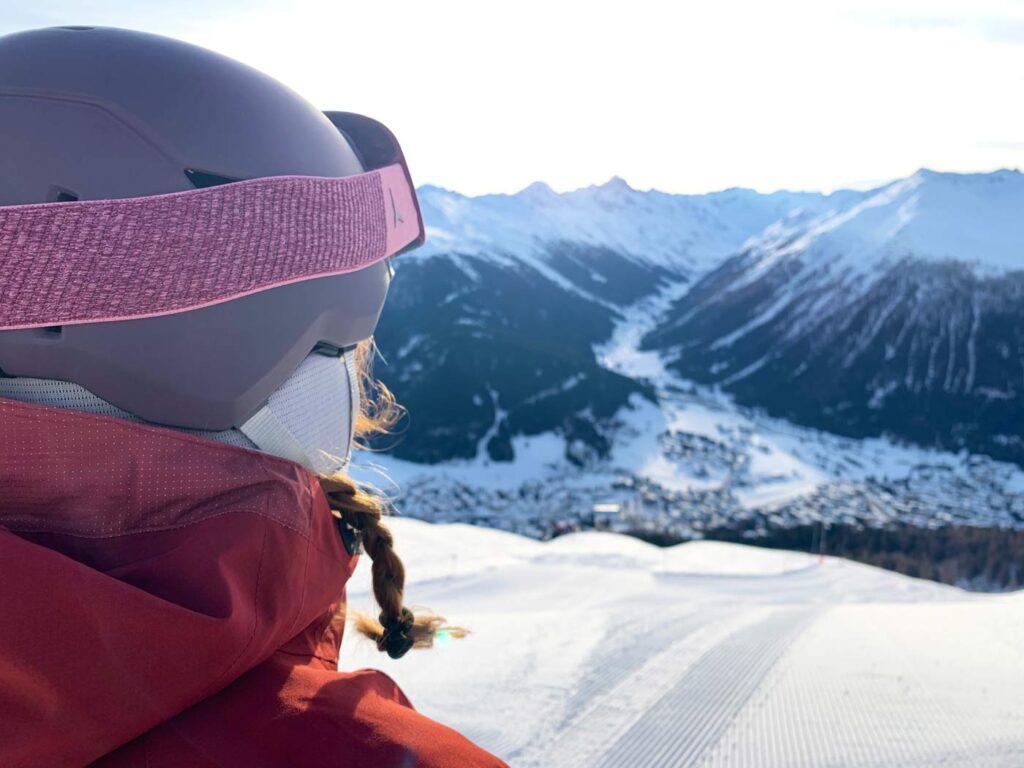 Genieten uitzicht Davos