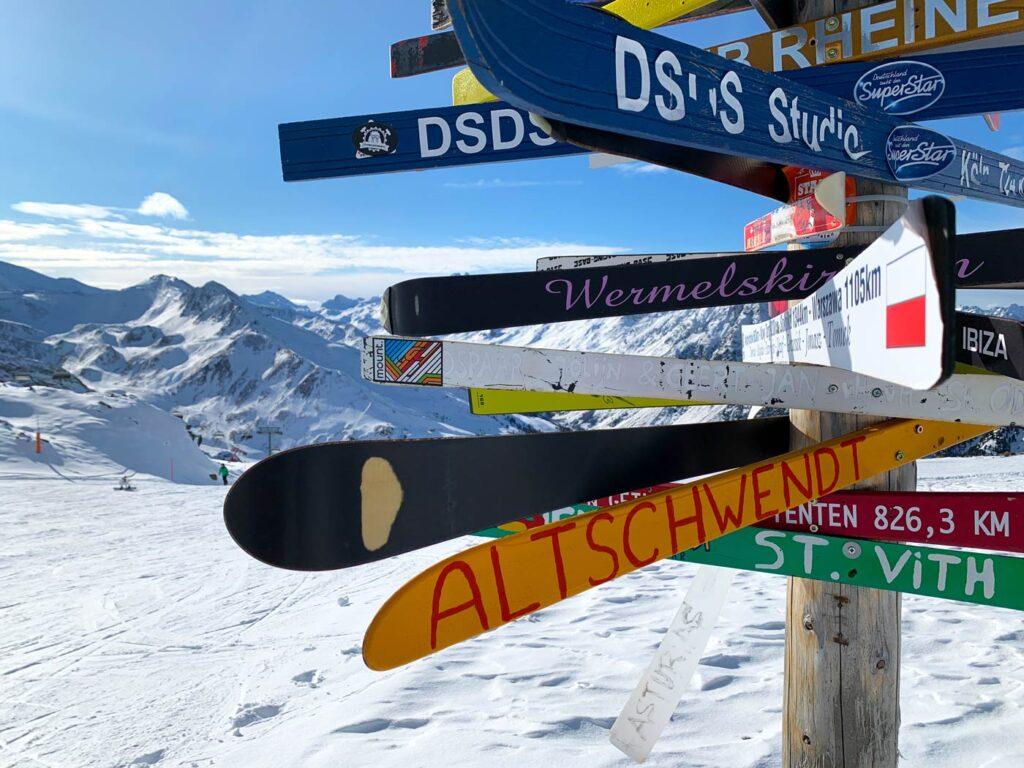 Schmugglerrunde skitocht in Ischgl