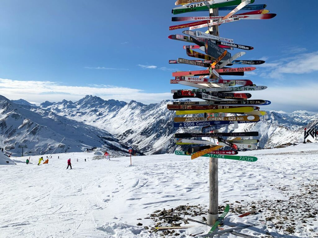 Silvretta Arena Ischgl - Samnaun skigebied met veel lange dalafdalingen