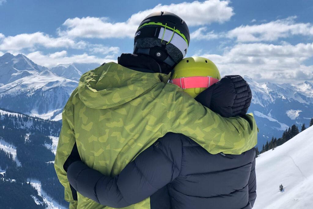 Liefde op wintersport