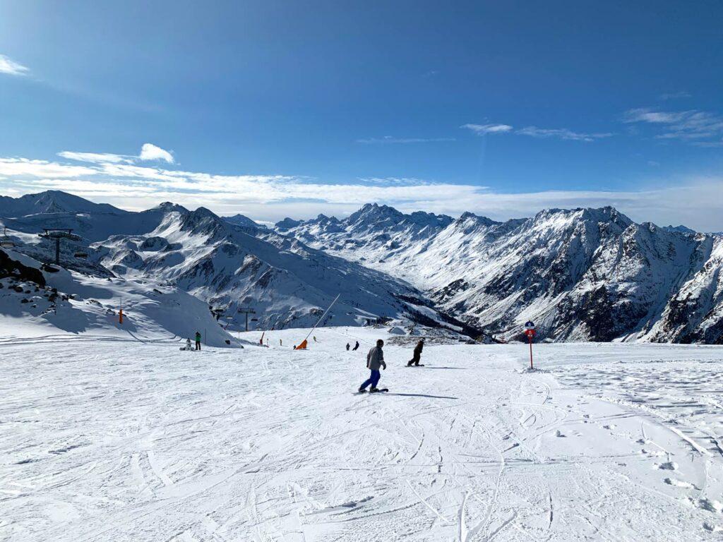 Skiën in Silvretta Arena Ischgl Samaun